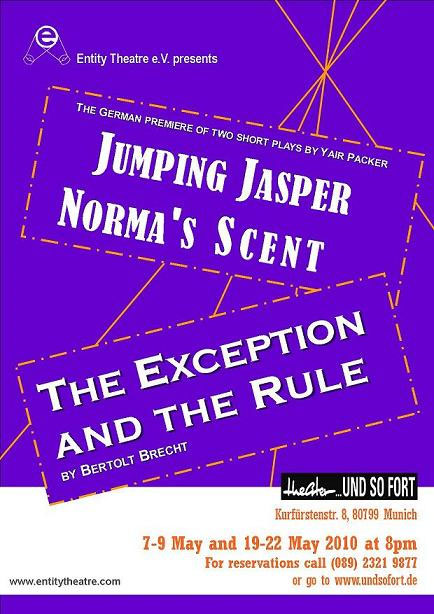 Jumping Jasper / Norma's Scent / The Exception and The Rule (2010)