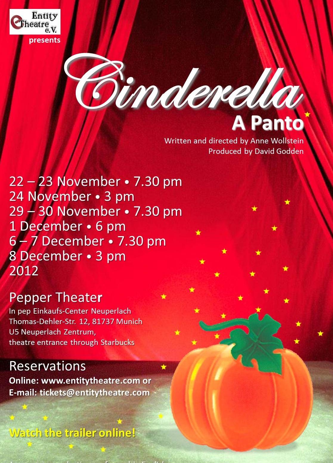 Cinderella - a panto (2012)