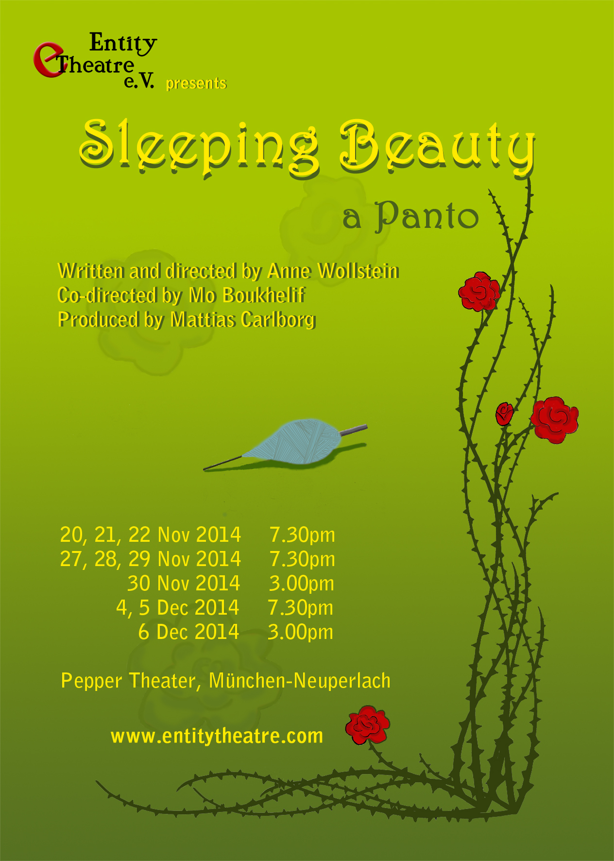 Sleeping Beauty - a panto (2014)